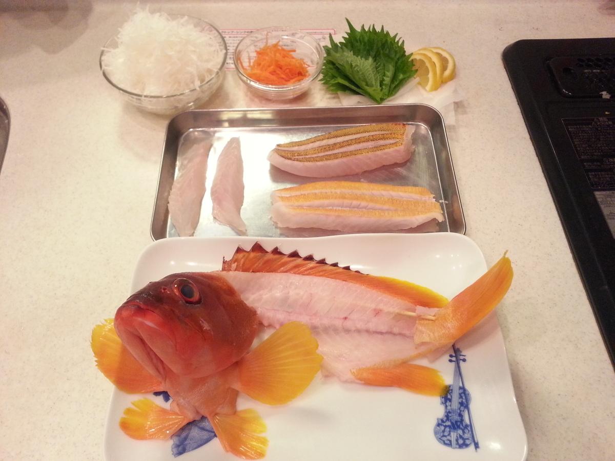 魚の姿造りの作り方