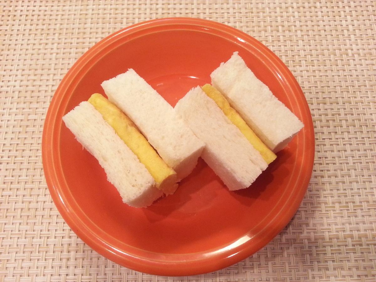 ろく助の塩 またごサンドイッチ