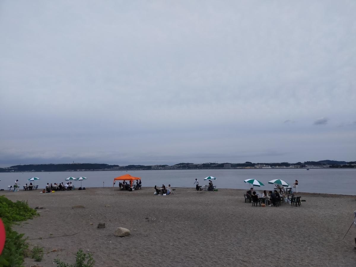 猿島 砂鉄の浜