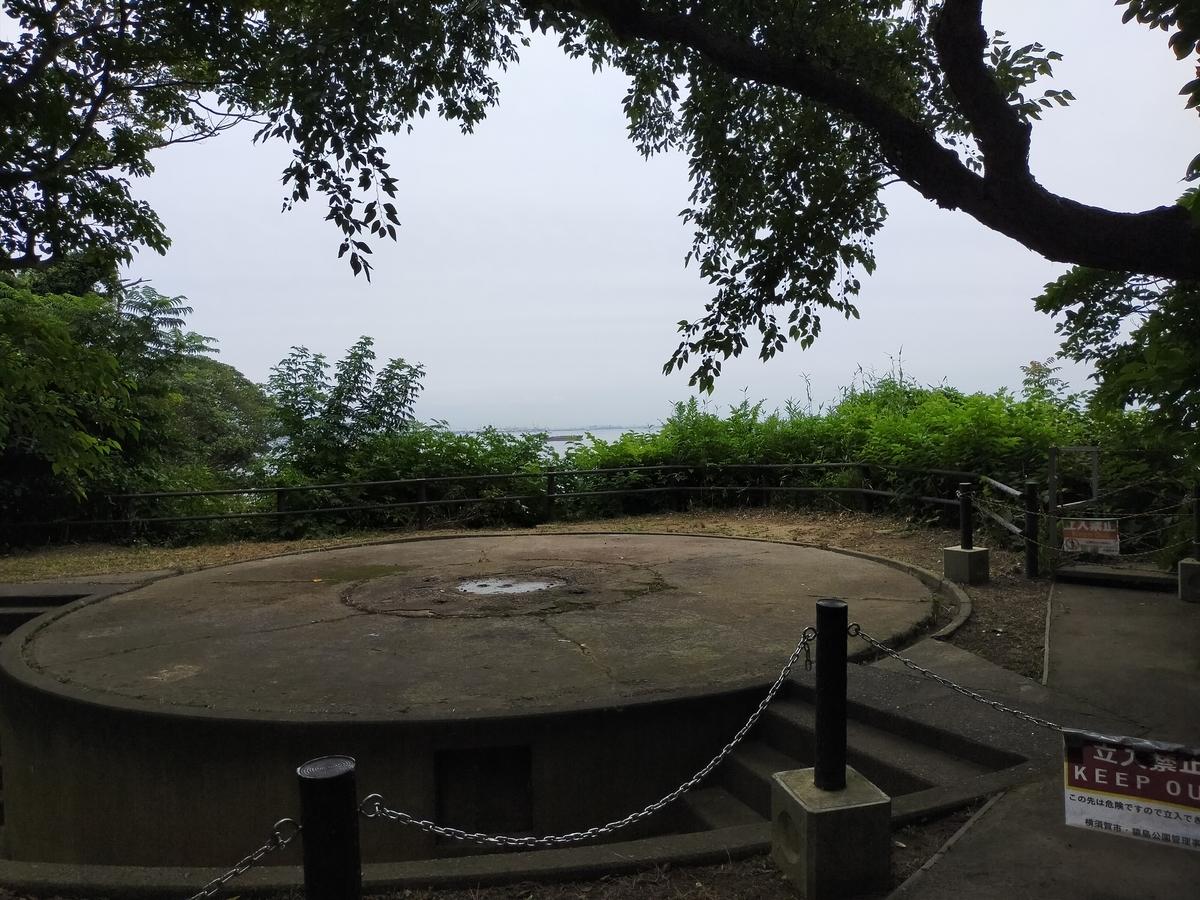 猿島 砲台跡