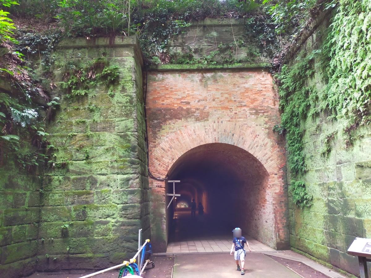 猿島 トンネル