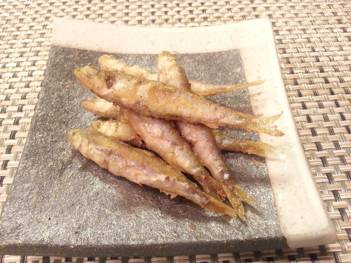 琵琶湖の小鮎 唐揚げ