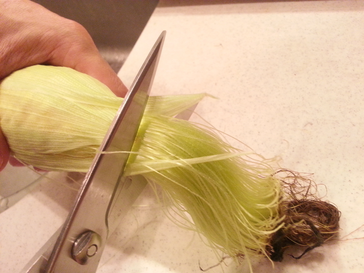 キッチンスパッター トウモロコシ