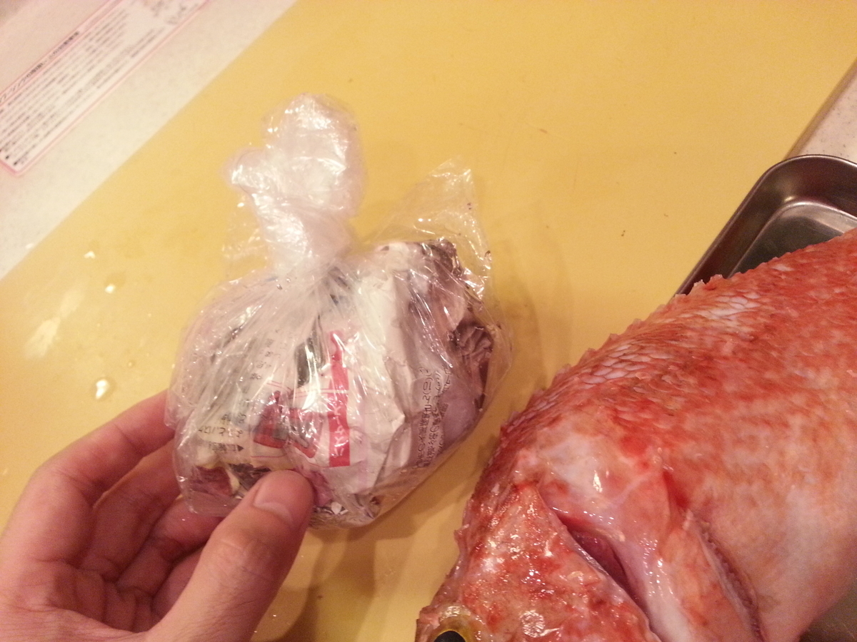 イズカサゴ(オニカサゴ)毒トゲの処置方法