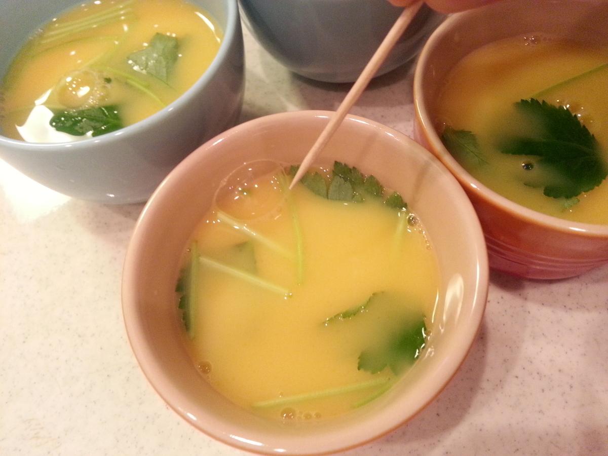 出汁パック 海鮮茶碗蒸し 作り方(茅乃舎だし)