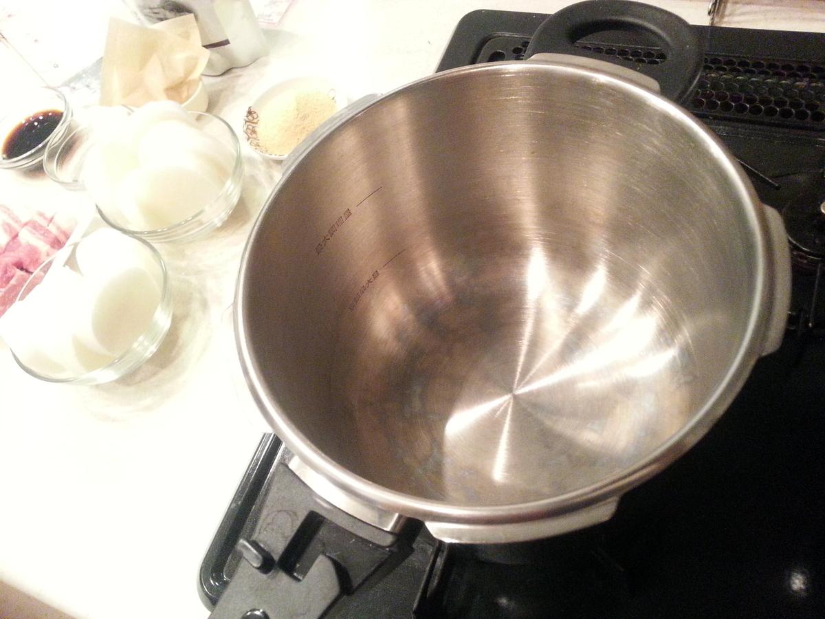 出汁パック 大根と豚肉の煮ものつくり方
