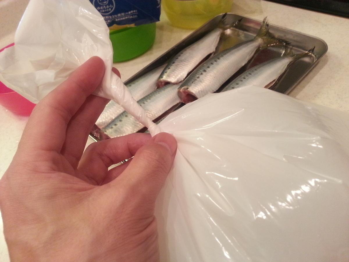 魚の生ゴミ処理方法 臭わない袋