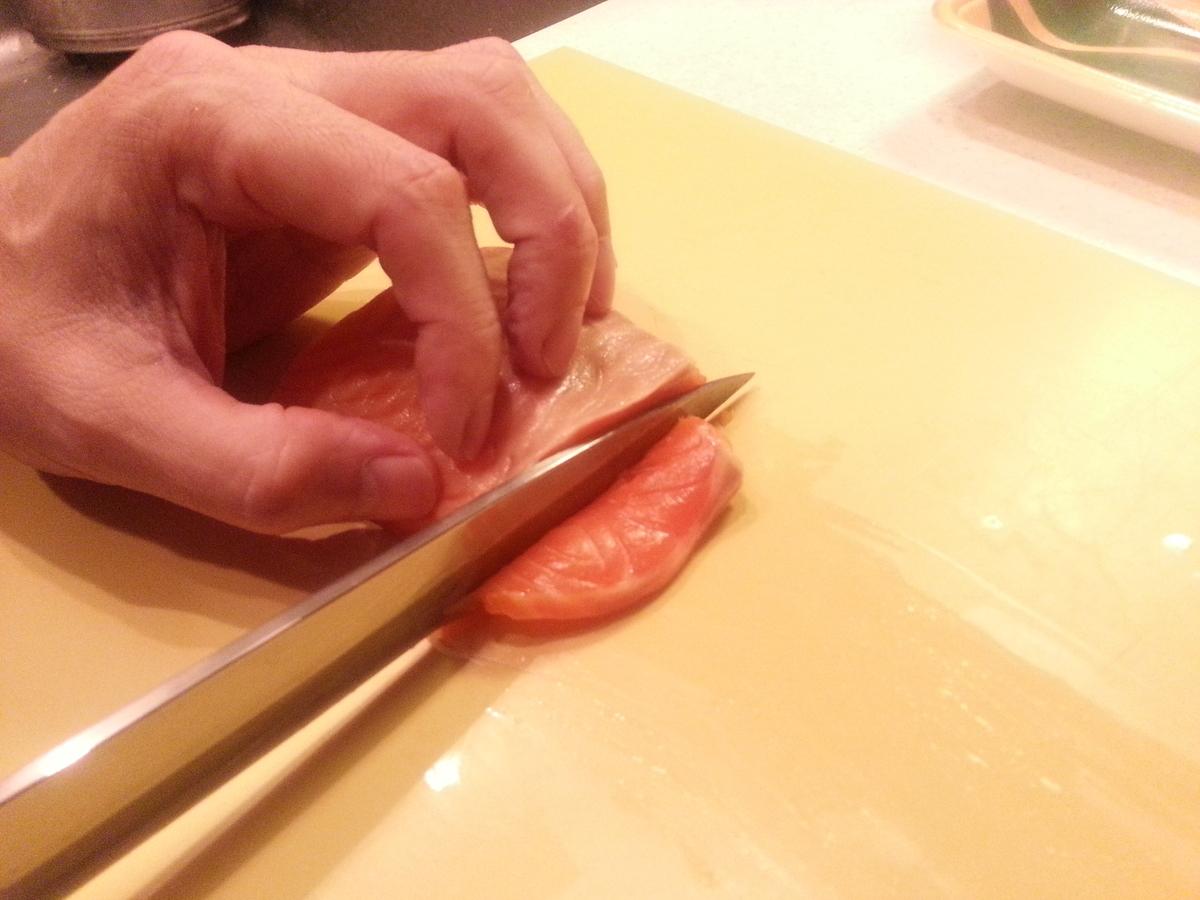 すだちで白身魚のカルパッチョ作り方