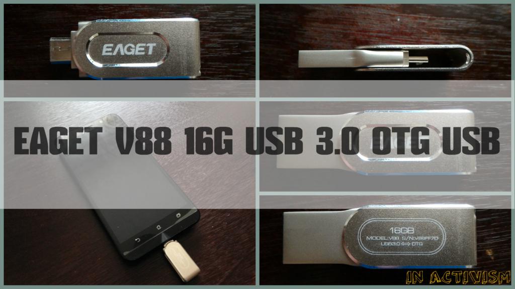 Android・PCのデータ移行に!「EAGET V88 16G USB 3.0 OTG USBメモリ」レビュー