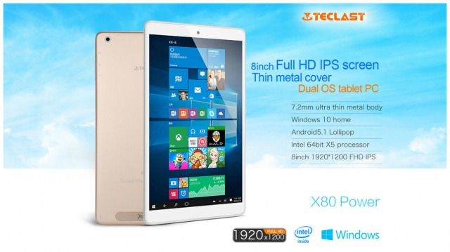 Teclast X80 Power