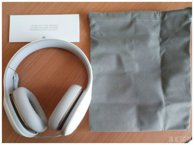 Original Xiaomi Headphonesパッケージ内容
