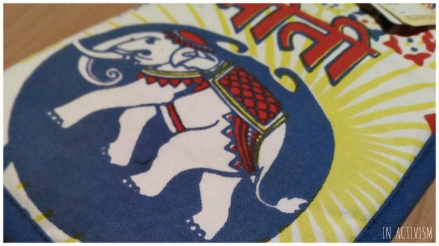 【チャイハネ】トリップマルチケース(母子手帳入れ)の象柄バージョン