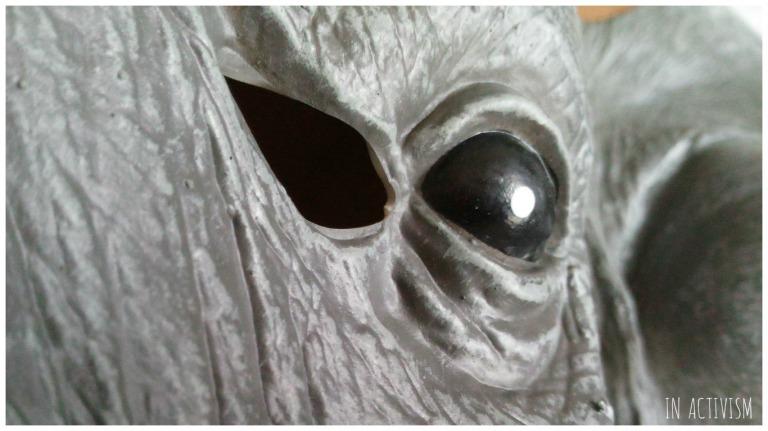アニマルマスク 天然ゴムラテックス製 象の目の輝き