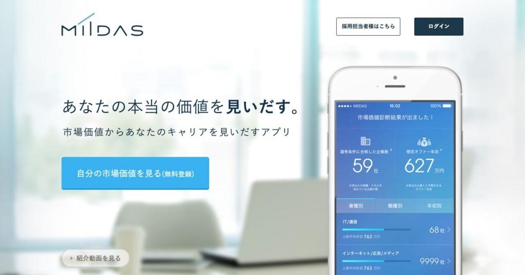 MIIDAS(ミーダス)のレビュー・評価・感想