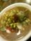 [今日の飯]松風トマト麺その3 ようやく本体 上にはじゃがいも、にんじ