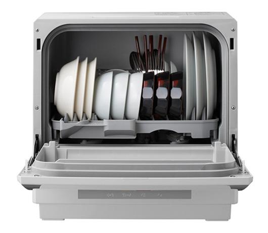 Panasonic食器洗い乾燥機プチ食洗エコナビホワイトNP-TCR2-W