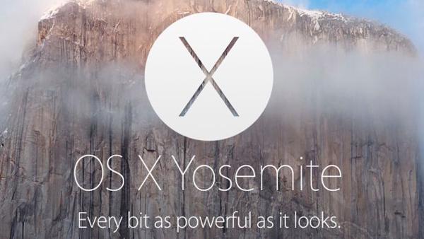 Mac OSX・Yosemite