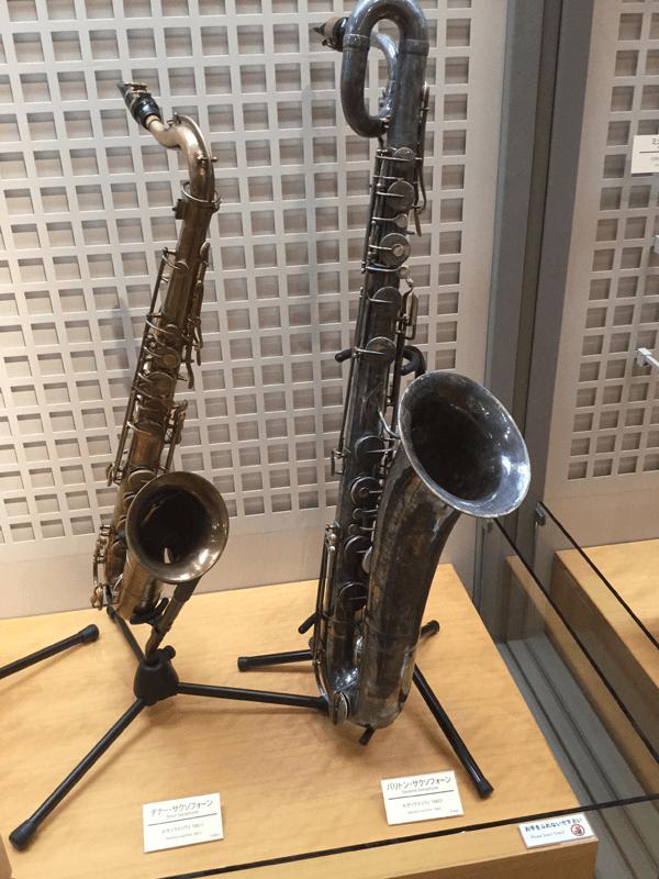 浜松市楽器博物館サックス