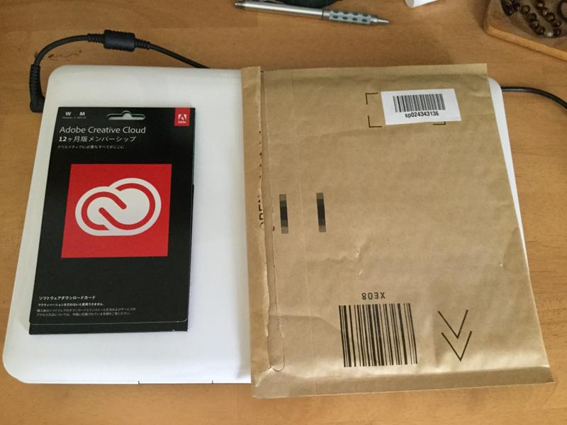 AdobeCreativeCloudコンプリート12か月版ダウンロードカード