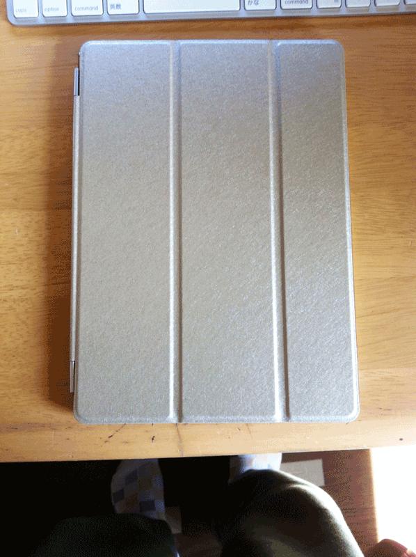 MSfactoryiPadAir2スマートカバーゴールド