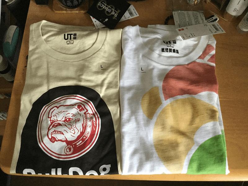 ユニクロ・Tシャツ