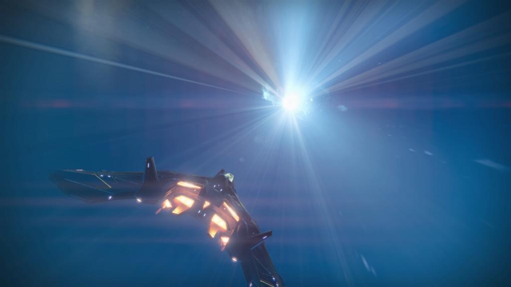 太陽系を自由気ままに飛び交うガーディアン達の画像
