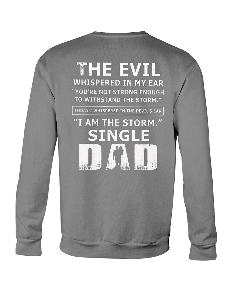 97309d88a f:id:EAgle:20190301122009j:plain. Homepage : Boomtshirts. EAgle 7 days ago  · (Nice) The evil whispered in my ear I am the storm single Dad shirt