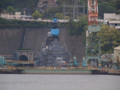 [護衛艦][くらま][長崎]三菱長崎造船所で修理中の「くらま」