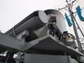 [海上自衛隊][ながしま]「ながしま」搭載艇。船外機のスクリューにシュラウドが付いています