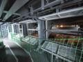 [海上自衛隊][しもきた]ウェルドック横の回廊部分。換気口(?)は開かれていました。