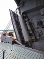 [海上自衛隊][しもきた]サイドランプのハッチ周辺。