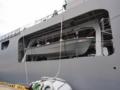 [海上自衛隊][しもきた]輸送艦「しもきた」の搭載艇。