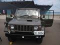[陸上自衛隊][73式小型トラック]岸壁で展示されていた陸上自衛隊の新73式小型トラック。