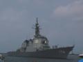 [海上自衛隊][ちょうかい]酒田港に入港する護衛艦「ちょうかい」。
