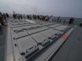 [海上自衛隊][ちょうかい][Mk41 VLS]護衛艦「ちょうかい」の後部VLS。