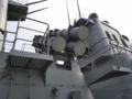 [海上自衛隊][ちょうかい][ハープーン]護衛艦「ちょうかい」のハープーン発射機。