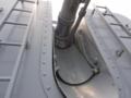 [海上自衛隊][ちょうかい][OTO 127mm砲]護衛艦「ちょうかい」主砲の砲身基部。