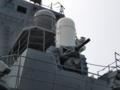 [海上自衛隊][ちょうかい][ファランクス]護衛艦「ちょうかい」の前部CIWS。
