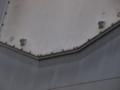 [海上自衛隊][ちょうかい][SPY-1]「ちょうかい」SPYアンテナのアップ。塗装禁止の注意書きが。