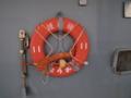 [海上自衛隊][ちょうかい]護衛艦「ちょうかい」の浮き輪。