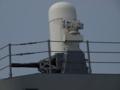 [海上自衛隊][ちょうかい][ファランクス]護衛艦「ちょうかい」の後部CIWS。