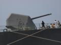 [海上自衛隊][ちょうかい][OTO 127mm砲]護衛艦「ちょうかい」の主砲。