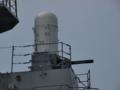 [海上自衛隊][ちょうかい][ファランクス]護衛艦「ちょうかい」のCIWS。