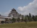 [史跡][鶴ヶ城]瓦を葺き替えてイメージを一新した鶴ヶ城天守閣。