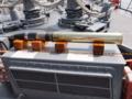 [海上自衛隊][まきなみ][OTO 127mm砲]「まきなみ」主砲の127mm訓練弾が展示されてました。