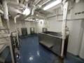 [海上自衛隊][あたご]護衛艦「あたご」の風呂場。