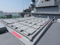[海上自衛隊][あたご][Mk41 VLS]「あたご」前甲板のVLS。