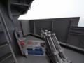 [海上自衛隊][せとぎり][チャフランチャ]「せとぎり」のチャフ甲板。海賊対策で装甲が追加されています。