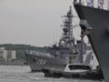 [海上自衛隊][せとぎり]護衛艦「せとぎり」が出港していきます。
