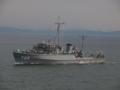 [海上自衛隊][いえしま]掃海管制艇「いえしま」。大阪湾にて。
